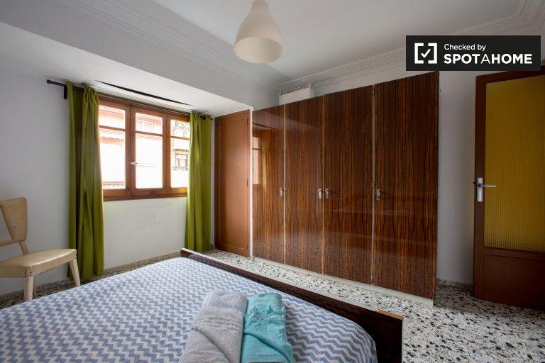 Chambre lumineuse à louer, appartement de 2 chambres à coucher, Poblats Marítims