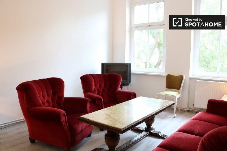 Precioso apartamento con 1 dormitorio en alquiler en Wedding, Berlín
