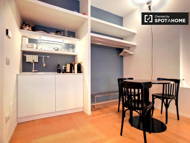 Studio-Wohnung zur Miete in der Altstadt, Mailand