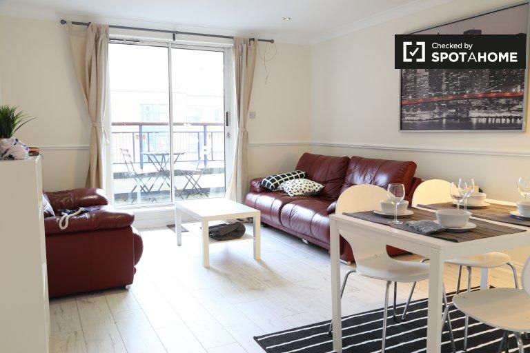 Apartamento de 2 quartos para alugar em North Inner City, Dublin