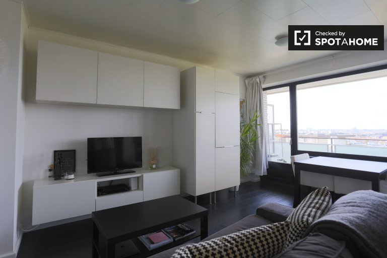 Gorgeous studio apartment for rent in Evere, Brussels