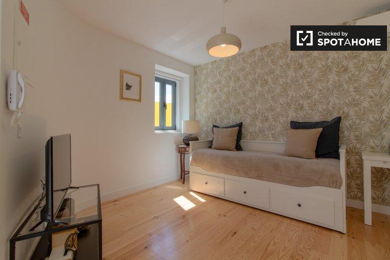 Bonito apartamento de estúdio para alugar em Belém, Lisboa