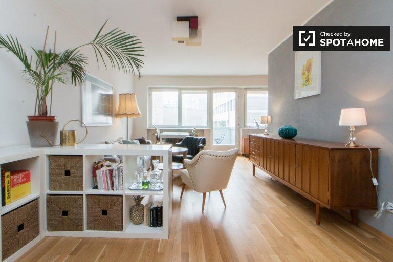 Elegante apartamento de 1 dormitorio en alquiler en Neukölln, Berlín