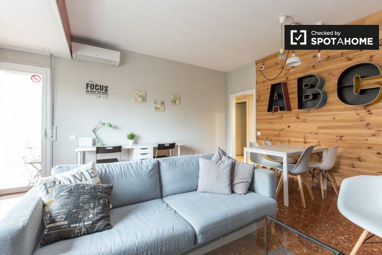 Habitación exterior en el apartamento, Sagrada Familia, Barcelona