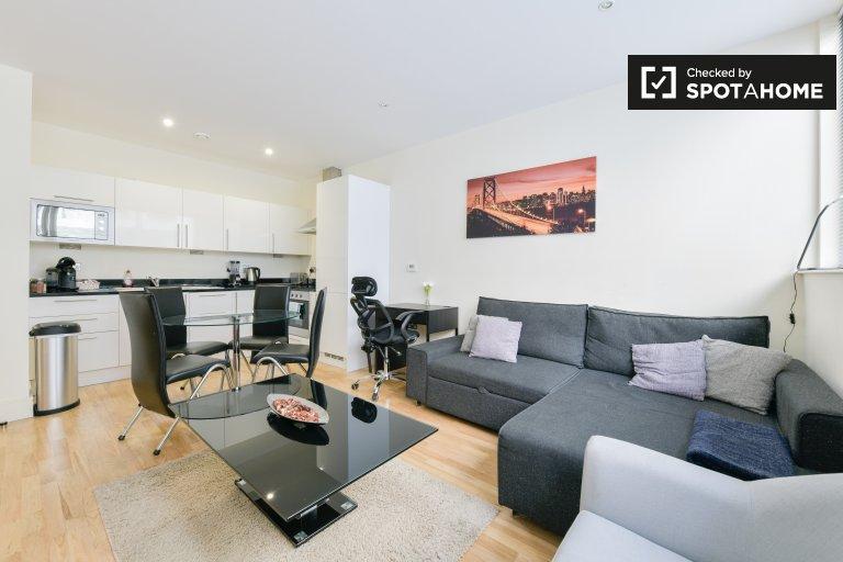 Chic appartement 1 chambre à louer à Tower Hamlets, Londres