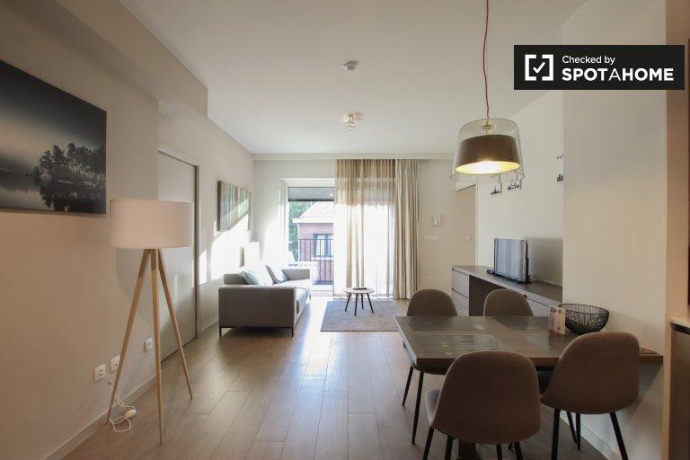 Mieszkanie z 2 sypialniami do wynajęcia w Saint-Lambert w Brukseli