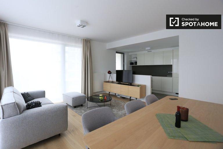 Apartamento de 1 quarto brilhante para alugar em Ixelles, Bruxelas
