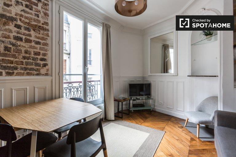 Appartamento con 1 camera da letto in affitto nel 9 ° arrondissement, Parigi