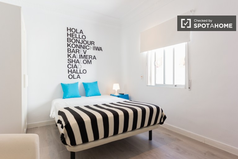 Comfortable room in shared apartment in Tetuan, Madrid