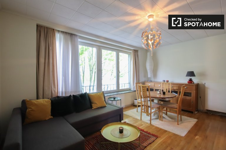 Apartamento de 1 dormitorio en alquiler en Berchem, Bruselas