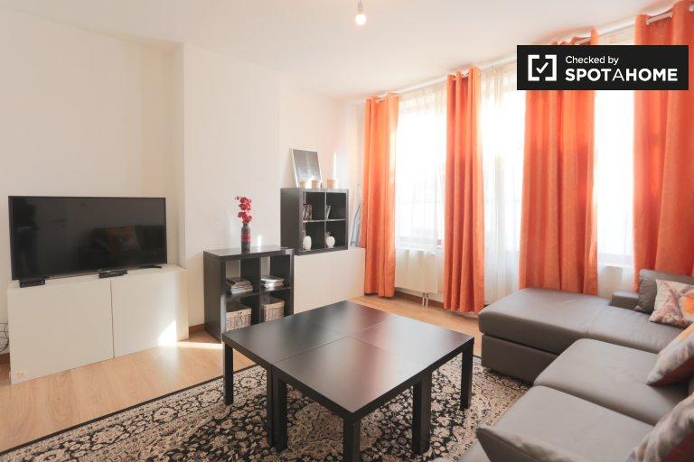 Accogliente appartamento con 2 camere da letto in affitto a Saint-Josse, Bruxelles