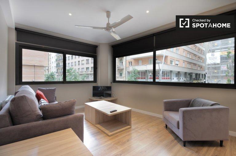 Apartamento de 3 quartos elegante para alugar em Gracia, Barcelona