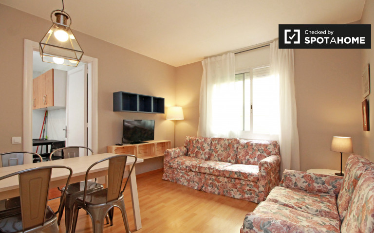 Stylish 4-bedroom apartment for rent in Horta-Guinardó