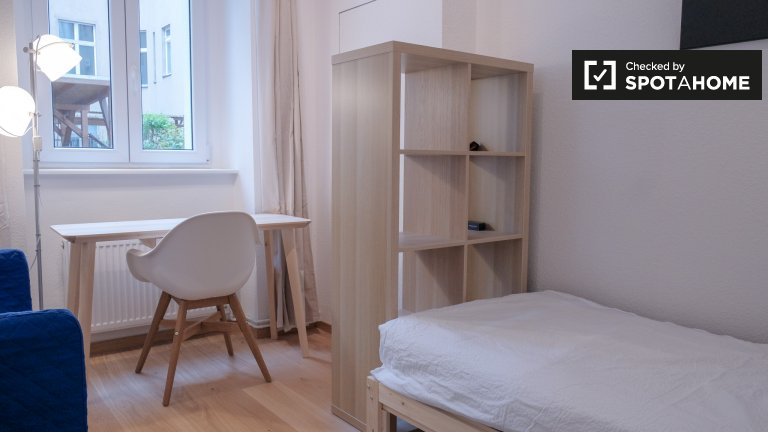 Sunny room in apartment with 2 bedrooms, Prenzlauer Berg