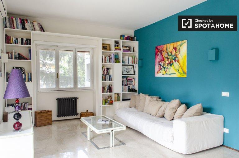 Super appartement de 3 chambres à louer à Tor di Quinto, Rome