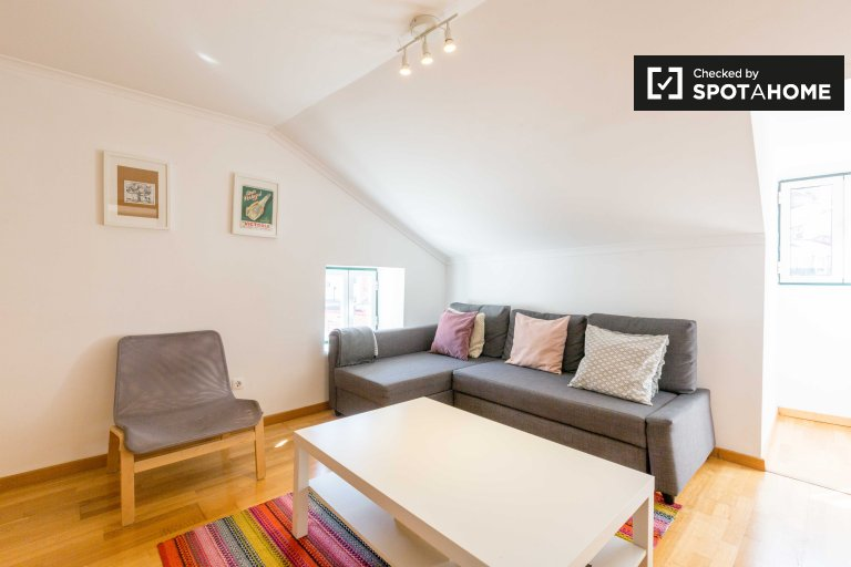 Nice 1-bedroom apartment for rent in Mouraria, Lisbon