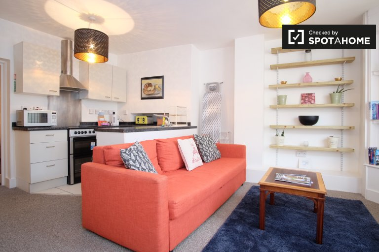 Moderne 2-Zimmer-Wohnung in Hackney, London zu vermieten
