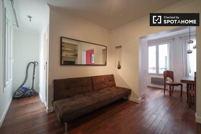 Moderno apartamento de 1 dormitorio en alquiler en 2º arrondissement