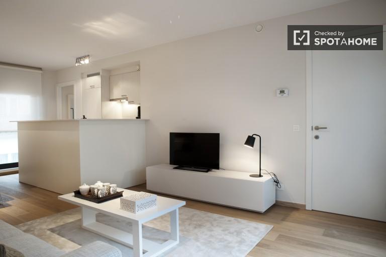 Nowoczesny 2 pokojowy apartament w Ixelles, Bruksela