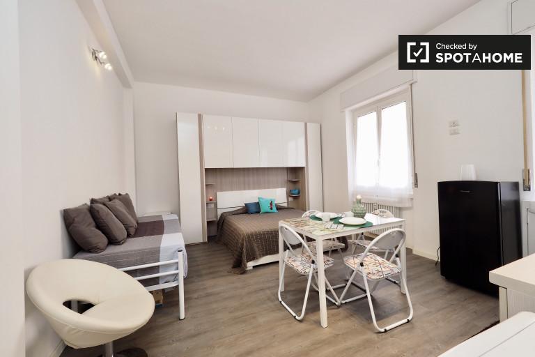 Moderno apartamento estudio en alquiler en Dergano, Milán