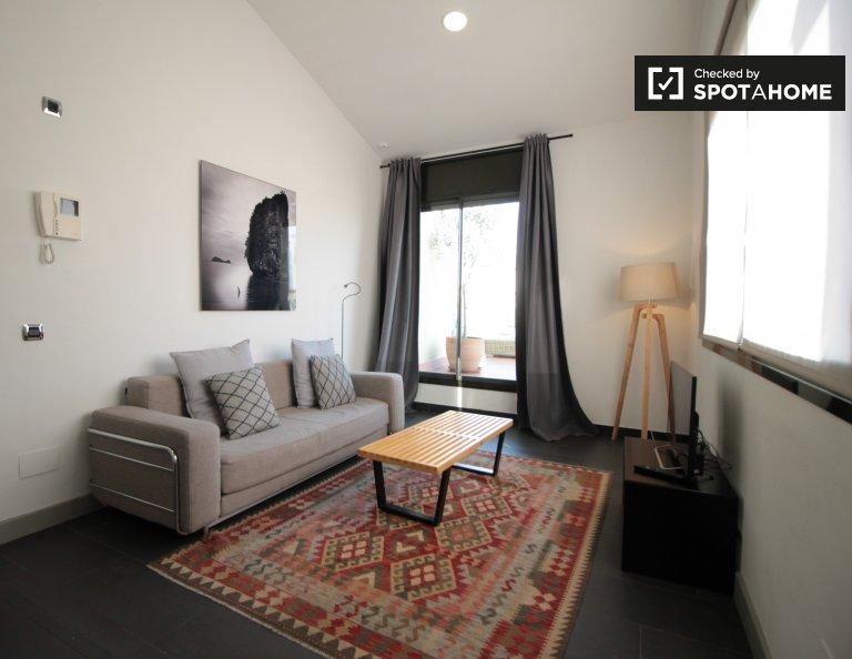Appartement moderne 2 chambres à louer à Sarrià-Sant Gervasi