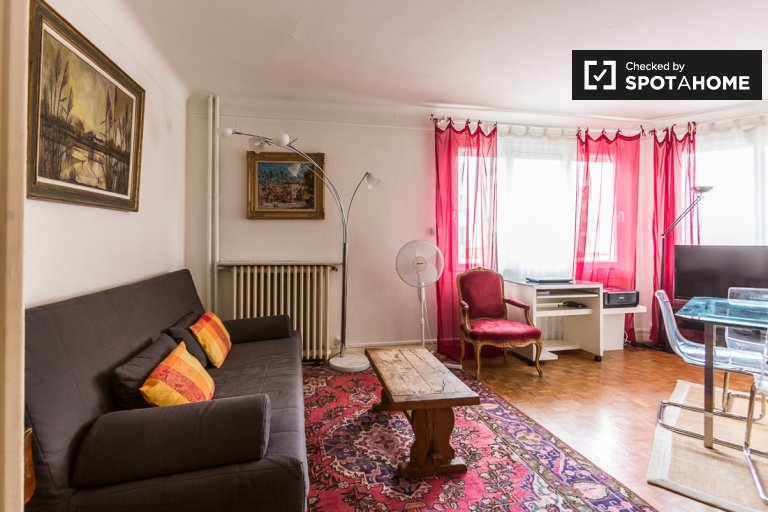 Charming 1-bedroom apartment for rent in the 12th arrondissement