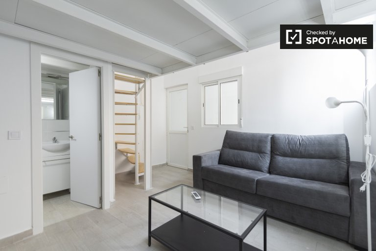 Splendido monolocale in affitto a Usera, Madrid