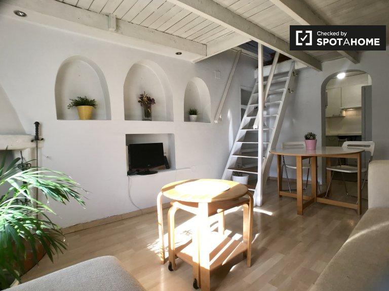 Estudio en alquiler en La Latina, Madrid