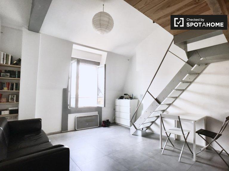 Studio apartment for rent in 9th arrondissement, Paris