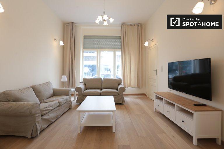 Duplex brilhante para alugar em Ixelles, Bruxelas