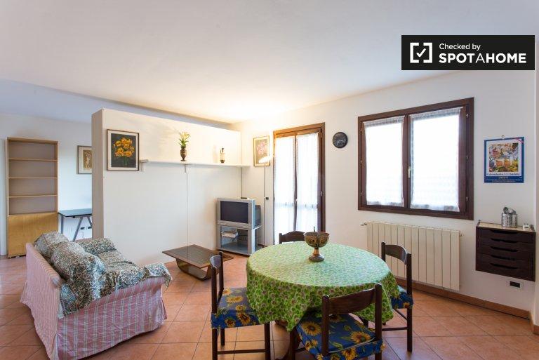 Encantador apartamento de 1 dormitorio en alquiler en Basiglio, Milán