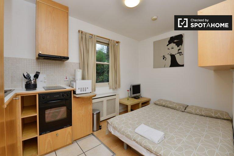 Przytulny apartament typu studio do wynajęcia w Earl's Court w Londynie