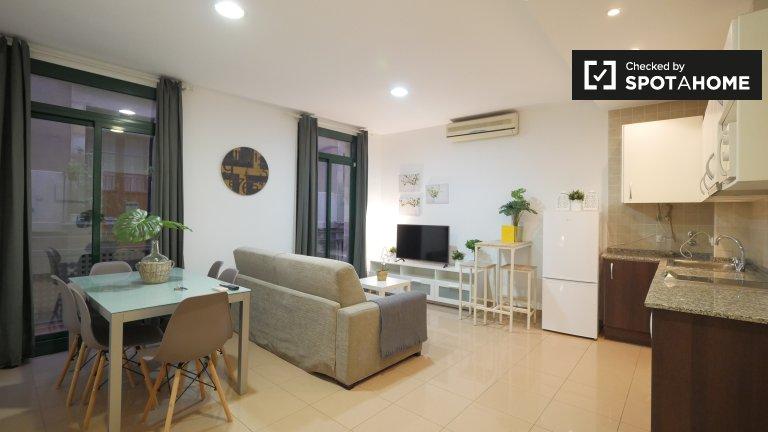 Moderne appartement 1 chambre à louer à El Raval, Barcelona