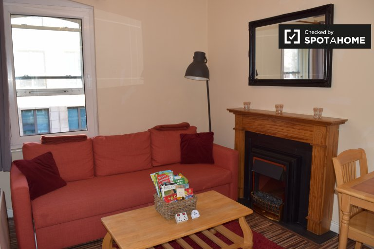 Acolhedor apartamento de 1 quarto para alugar em Temple Bar, Dublin