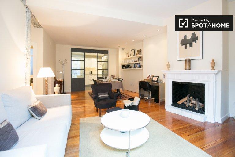 Stylish 1-bedroom apartment for rent in Casco Viejo, Bilbao