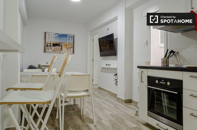 3-Zimmer-Wohnung zur Miete in Poblats Marítims, Valencia