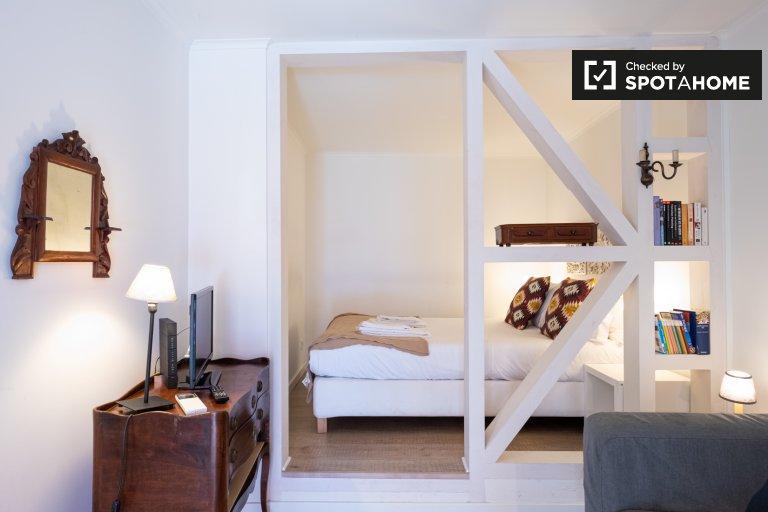 Elegante estudio en alquiler en Campo de Ourique, Lisboa
