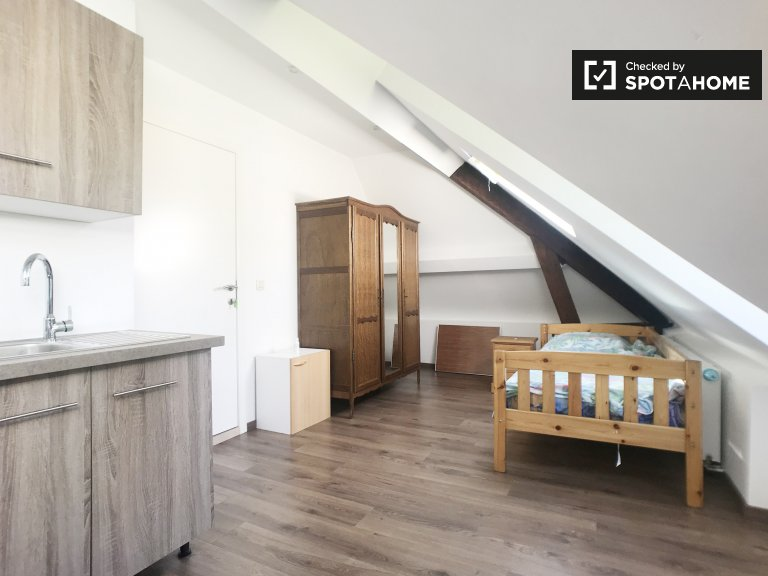 Stanza soleggiata in affitto ad Anderlecht, Bruxelles