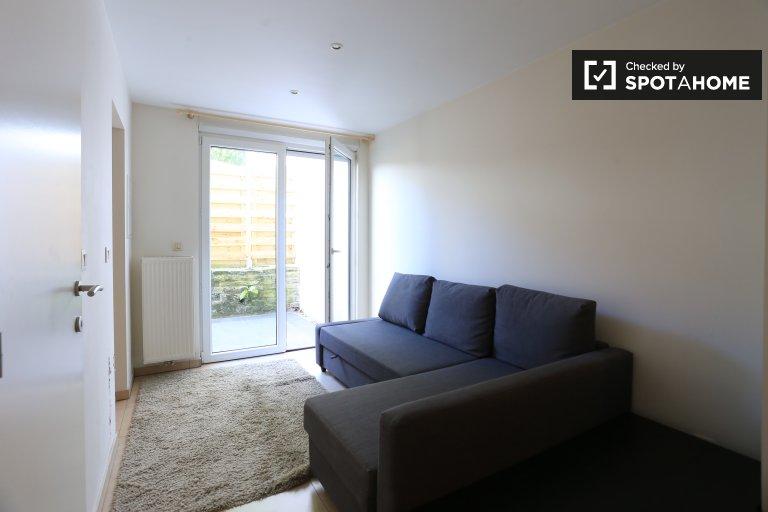 Studio apartment for rent in Woluwe Saint Lambert, Brussels