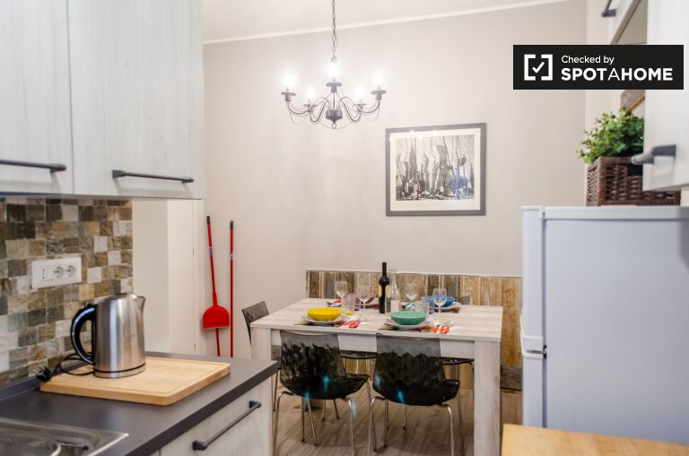 Charming 2-bedroom apartment for rent in San Giovanni, Rome