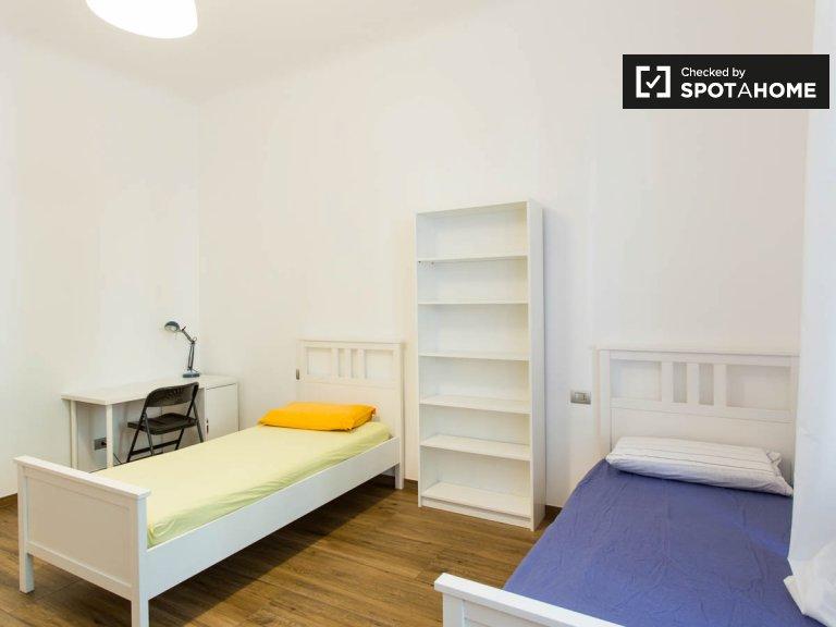 Chambre à louer dans un appartement de 9 chambres, Città Studi