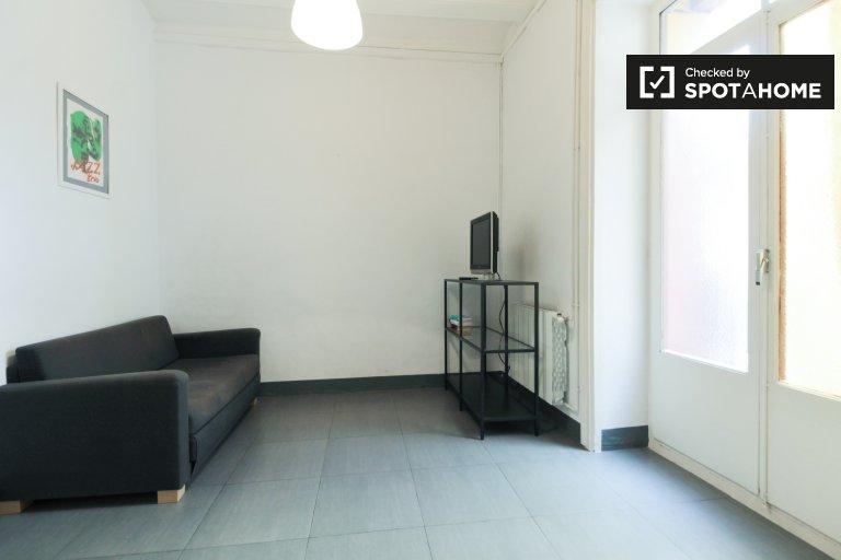 Apartamento casual de 2 dormitorios en alquiler en El Raval, Barcelona