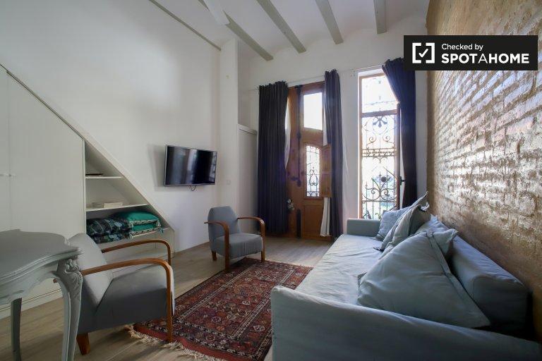 Poblats Marítims kiralık 2 odalı daire, Valencia