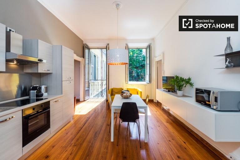 Exquisite 3-bedroom apartment for rent in Duomo