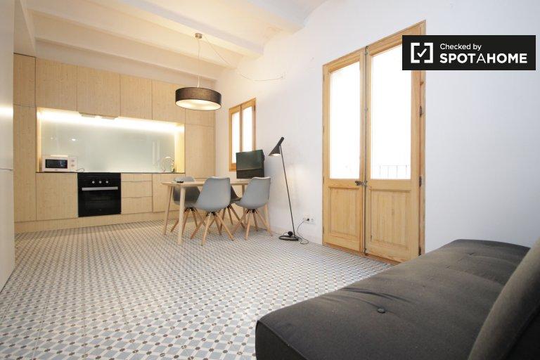 1-pokojowe mieszkanie do wynajęcia w La Barceloneta, Barcelona