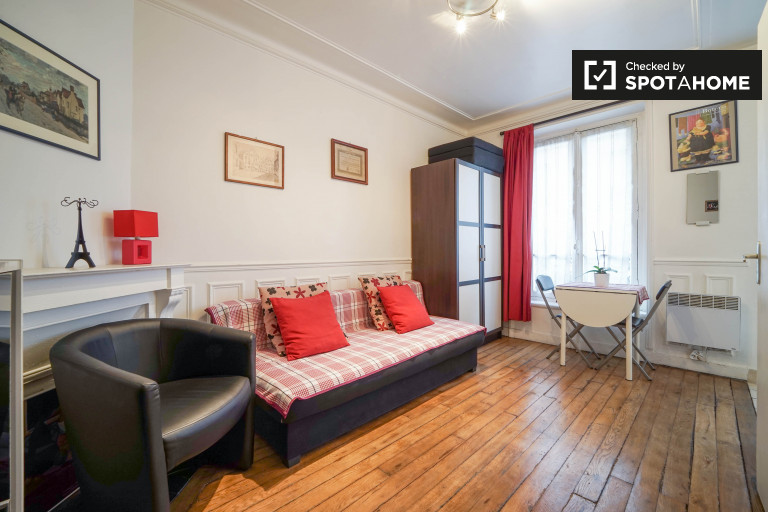 Studio apartment for rent in 11th arrondissement, near to Bastille district