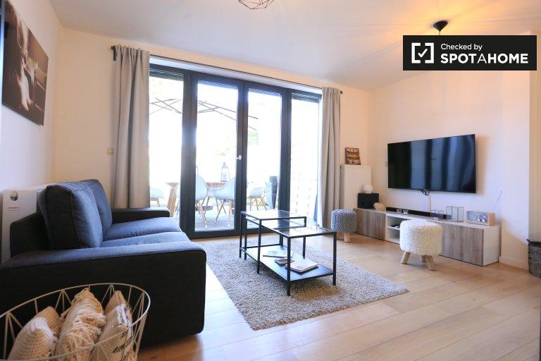 Wspaniały 2-pokojowe mieszkanie do wynajęcia w Uccle, Bruksela