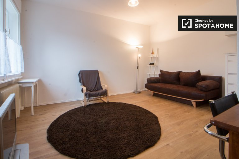 Fully furnished studio apartment for rent in Friedenau
