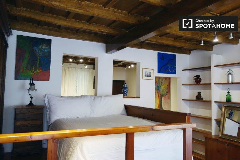 Confortable appartement d'une chambre à louer dans le centre historique de Rome