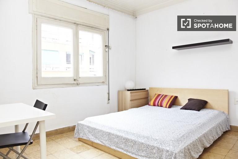 Double exterior room (bedroom 1)